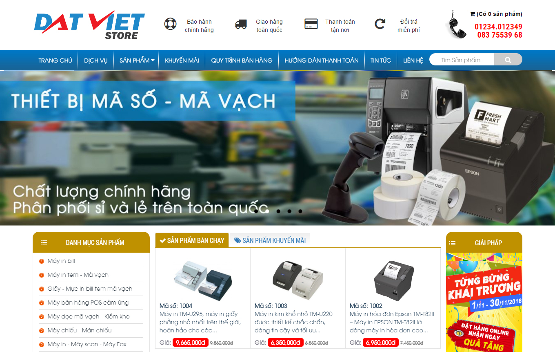 Thiết kế website bán hàng bằng wordpress
