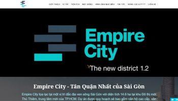 Thiết kế website bất động sản 1 dự án TNHH ProHOUSE