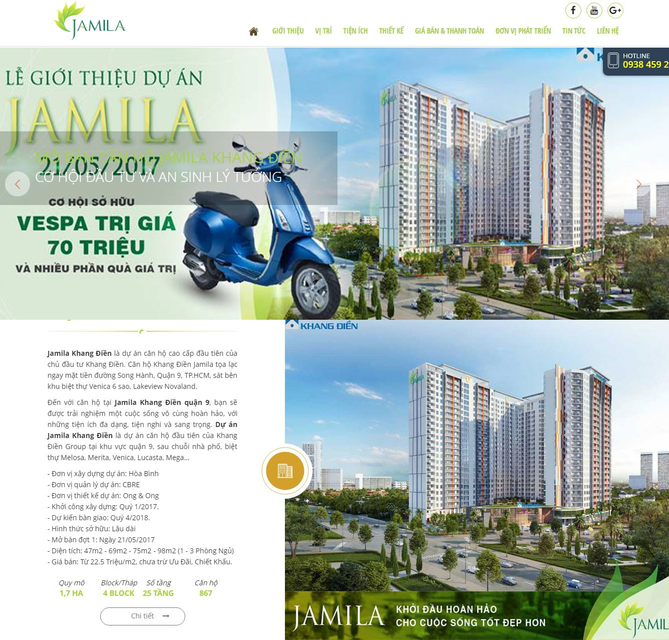 Mẫu thiết kế website Bất Động Sản đẹp