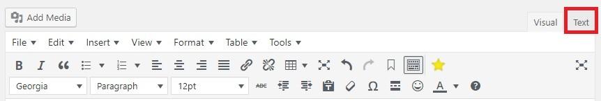 Chèn link nofollow trong WordPress soạn thảo