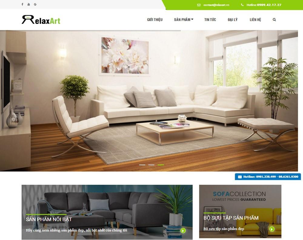 Thiết kế website công ty