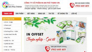 thiet ke website cong ty
