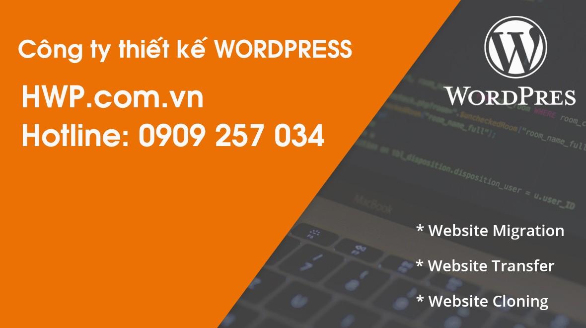 Công ty thiết kế WordPress HWP chuyên nghiệp, uy tín