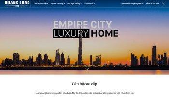 Thiết kế website bất động sản cao cấp tại HWP.com.vn