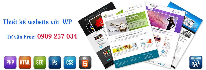 Thiết kế website với wordpress chuyên sâu, lập trình hoàn toàn bằng code từ file giao diện, html đến theme WordPress