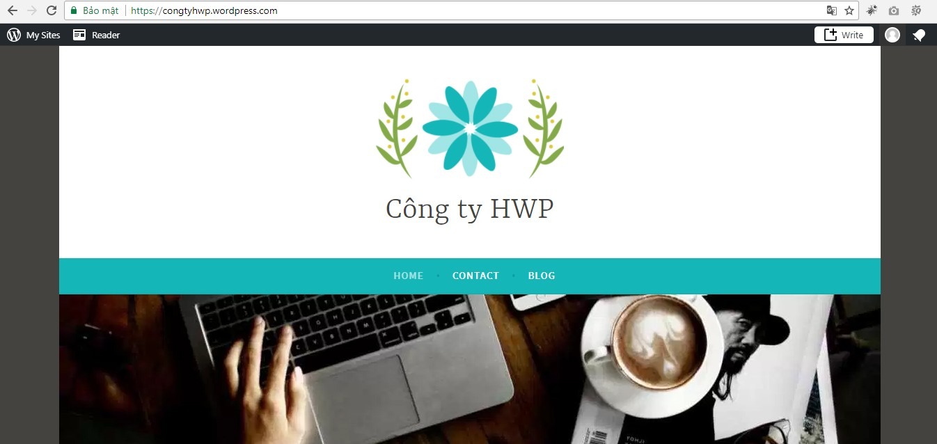 thiet ke websit voi wordpress