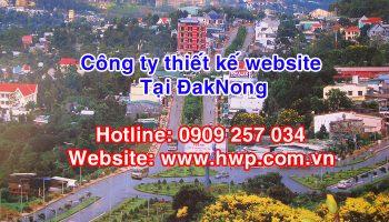 thiet ke website tai DakNong