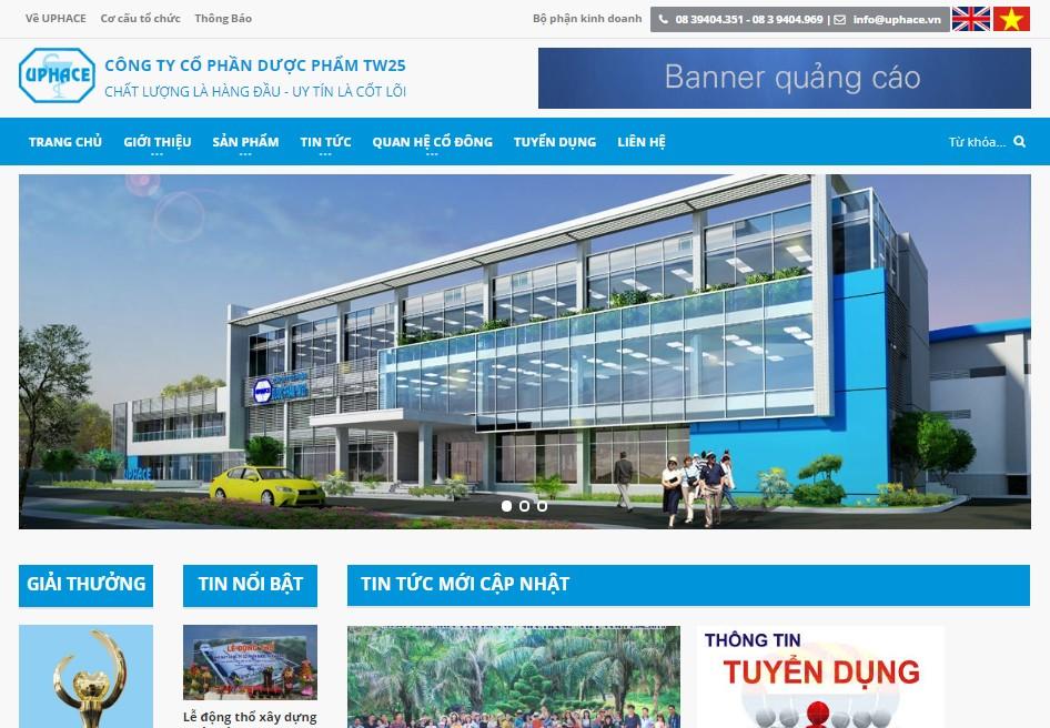 Thiết kế website công ty - HWP.com.vn
