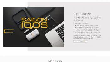 Thiết kế website bán hàng saigoniqos.com