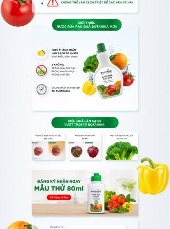 landing page botanika.vn